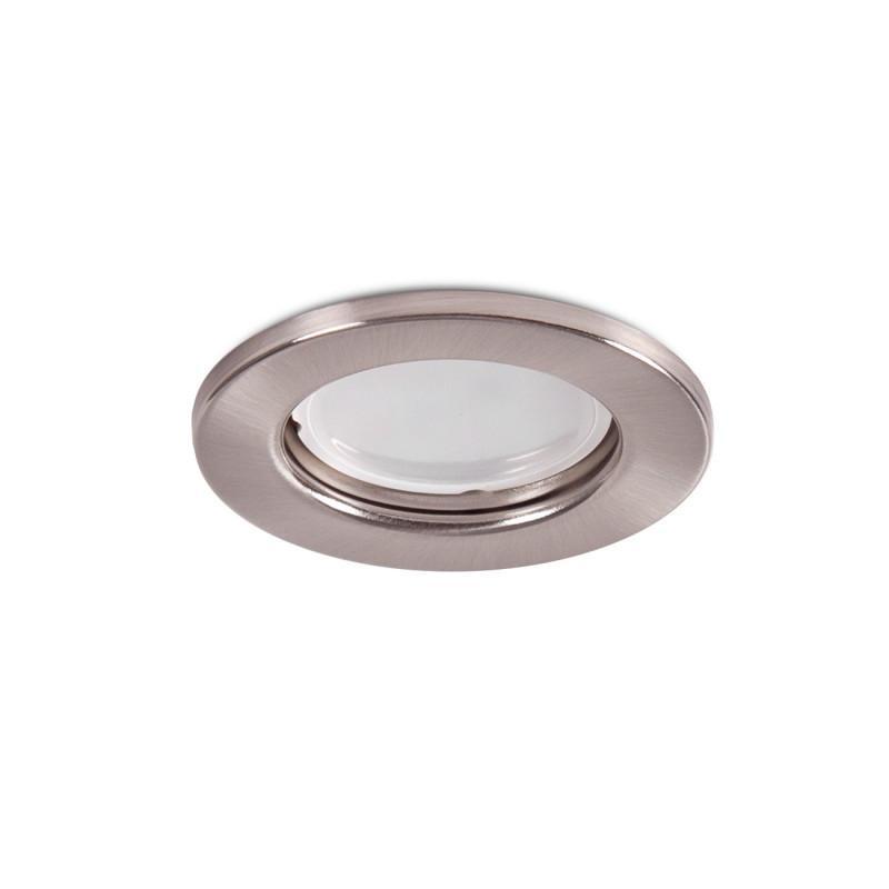 """Aro Foco Downlight Circular """"Sara"""" Acero 81mm - Satinado - Imagen 1"""