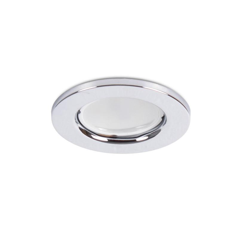 """Aro Foco Downlight Circular """"Sara"""" Acero 81mm - Cromado - Imagen 1"""