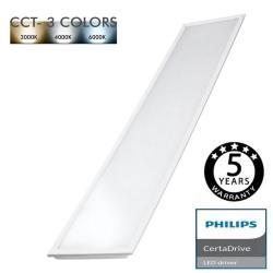 Panel LED 120x30 44W Certa Driver Philips - CCT - Imagen 1