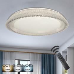Plafón LED 36W TURKU - Dimable - CCT + Mando Control - Imagen 1