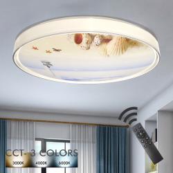 Plafón LED 36W OULU - Dimable - CCT + Mando Control - Imagen 1