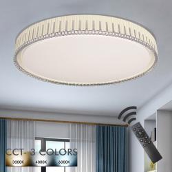 Plafón LED 36W VANTAA - Dimable - CCT + Mando Control - Imagen 1