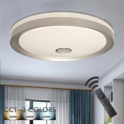 Plafón LED 36W ESPOO - Dimable - CCT + Mando Control - Imagen 1