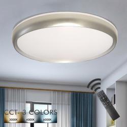 Plafón LED 36W LAHTI - Dimable - CCT + Mando Control - Imagen 1