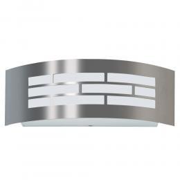Aplique LED E27 GOTEMBURGO INOX Exterior - Imagen 2