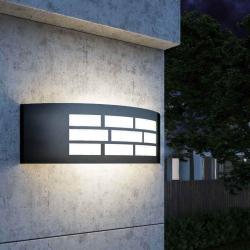 Aplique LED E27 GOTEMBURGO GRIS Exterior - Imagen 1