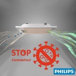 Panel LED 60x60 con sistema de filtrado de aire - Lámpara Philips UV-C Germicida - Imagen 1