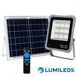 Foco Proyector Exterior SOLAR LED 50W AVANT