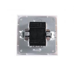 Interruptor 10A 250V Empotrado Terminales Tornillo Blanco - Imagen 2