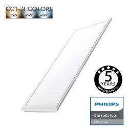 Panel LED 60X30 24W Certa Driver Philips - CCT - Imagen 1