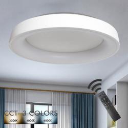 Plafón LED 36W FRANKFURT - Dimable - CCT + Mando Control - Imagen 1