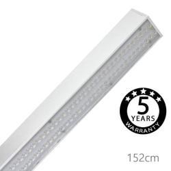 Lámpara Lineal Colgante LED 36W - SKIVE - 152cm - 4000K - IP20 - Imagen 1