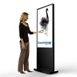 Tótem Cartel Publicitario Interactivo Tactil LCD Full HD Goodview 55″ - Uso 24h. - Imagen 1