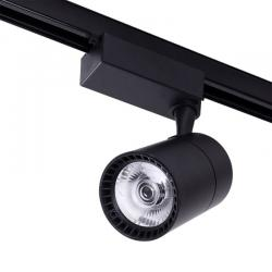 Foco Carril LED Trifásico 30W 2700Lm 30000H Negro