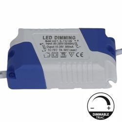 Driver DIMABLE para Luminarias LED de 4W a 7W - 300mA - TRIAC - Imagen 1