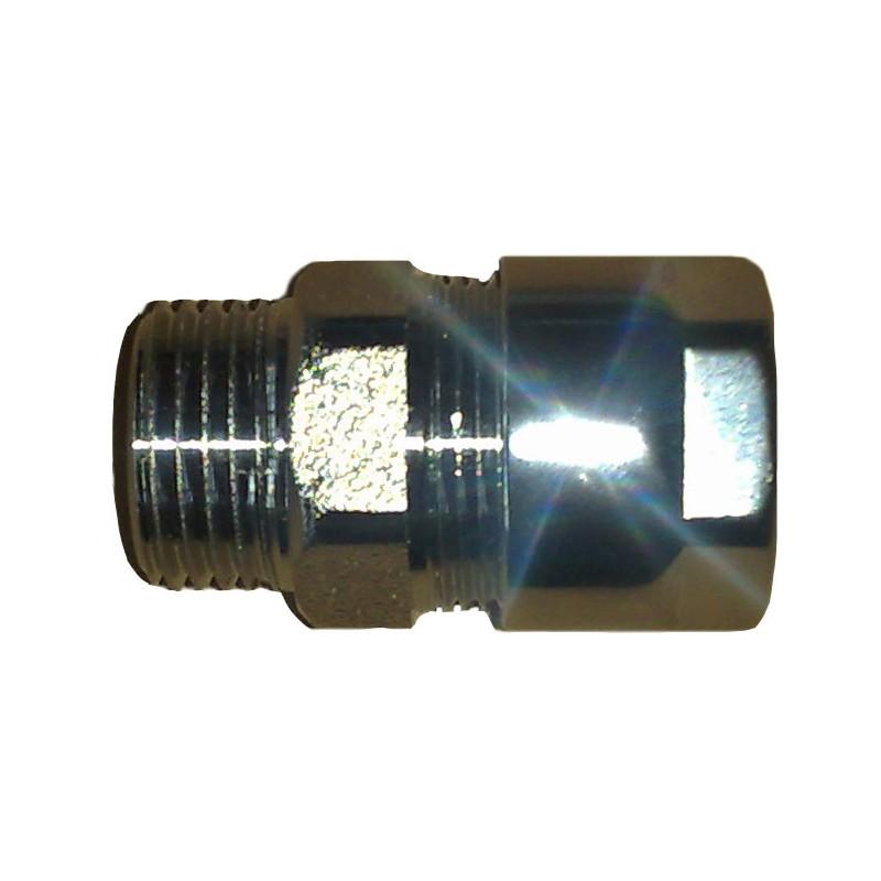 Racor Macho para la unión de tubos.