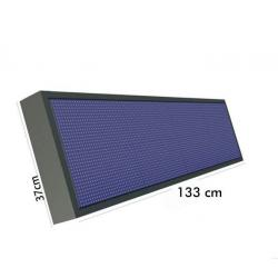 Rotulo Electronico LED Exterior RGB Full Color Pixel 10 /   133x37 cm