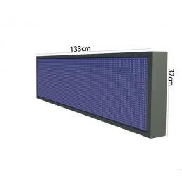 Rotulo Electronico LED Exterior RGB Full Color Pixel 10  1.33*0.37m - Imagen 2