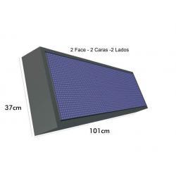Banderola Electrónica P10 RGB IP65 1010*370mm - Imagen 1