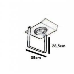 Soporte para farola + Placa LED Slim 70w IP67 - Imagen 2