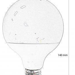 Bombilla Globo LED E27 G95 15W - Imagen 2