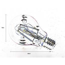 Bombillas led Filamento 4w 320lm 360º IP20 E27 - Imagen 2