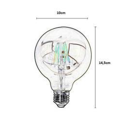 Bombillas led Filamento 6w 320lm 360º IP20 E27 - Imagen 2