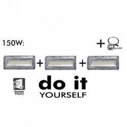 Campana DIY 150W 120º 3000K  SMD 3030 -3D-