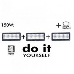 Campana DIY 150W 60º 6000K  SMD 3030 -3D-