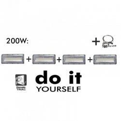 Campana DIY 200W 120º 6000K  SMD 3030 -3D-