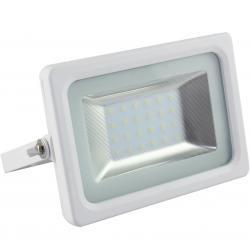 Foco Proyector Exterior Blanco 20W IP65 Elegance 3030-3D - - Imagen 1