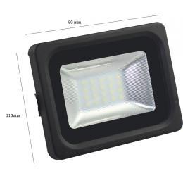 Foco Proyector Exterior Negro 10W IP65 Elegance 3030-3D - - Imagen 2
