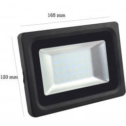 Foco Proyector Exterior Negro 20W IP65 Elegance 3030-3D - - Imagen 2