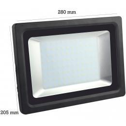 Foco Proyector Exterior Negro 85W IP65 Elegance 3030-3D - - Imagen 2