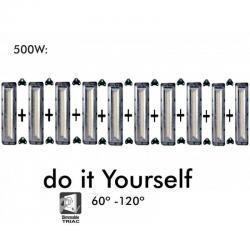 Proyector LED DIY 500W 120º 6000K  SMD 3030 -3D