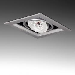 Foco Downlight Led Cuadrado 3W 300Lm 30.000H