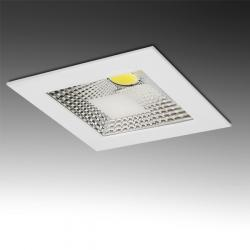 Downlight Led Cuadrado COB 5W 400Lm 30.000H