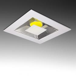 Downlight Led Cuadrado COB 10W 800Lm 30.000H