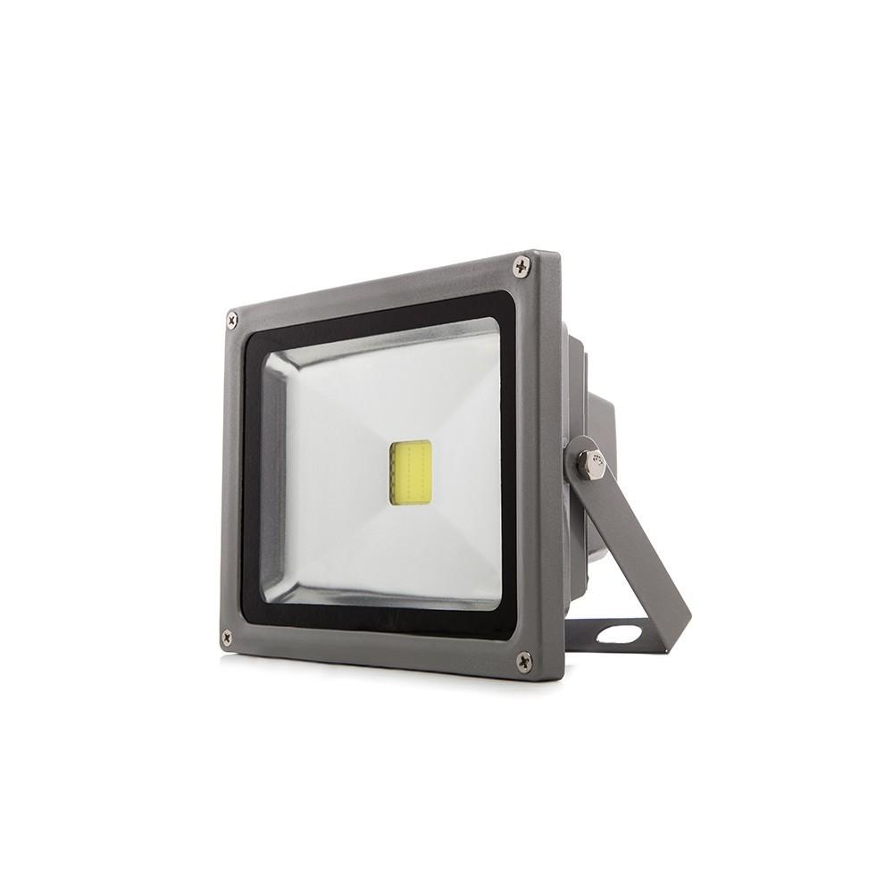 Foco proyector de leds para exterior dimable brico 30w for Bombillas led para focos exterior