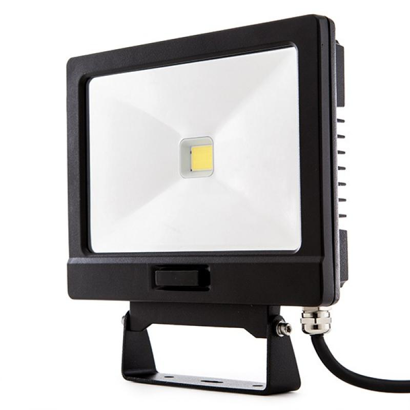 Proyector Led para Exterior 30W 2700Lm con Detector Movimiento regulable con Mando a Distancia  30.000H - Imagen 1