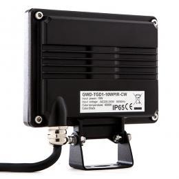 Proyector Led para Exterior 10W 850Lm con Detector Movimiento regulable con Mando a Distancia  30.000H - Imagen 2