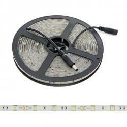 Tira de 150 LEDs SMD5050 12VDC IP65