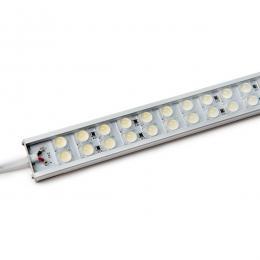 Tira Led Doble Rígida con Lentes 45º 72 LEDs SMD5050 17,2W 24VDC 1440Lm IP65 600mm - Imagen 2