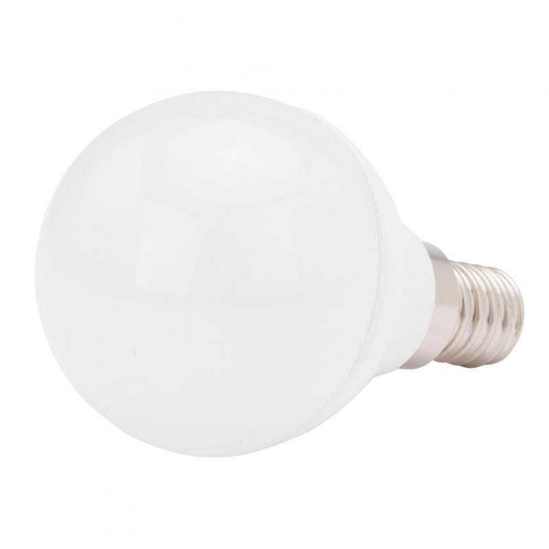 Lámpara Bombilla Led Cerámica Esférica E14 5W 400Lm +-10% 30.000H - Imagen 1