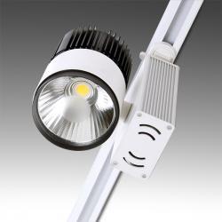 Foco de Carril LED COB 30W 2700Lm 30.000H