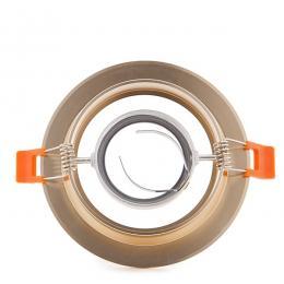 Aro Downlight Circular Dorado 120mm - Imagen 2