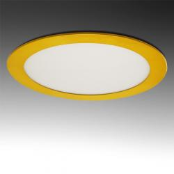 Downlight LED Circular Amarillo 225mm 18W 1380Lm
