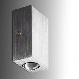Aplique Mini de Pared 2 LEDs 2W 180Lm 30.000H - Imagen 2