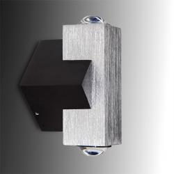 Aplique Mini de Pared 2 LEDs 2W 180Lm 30.000H - Imagen 1