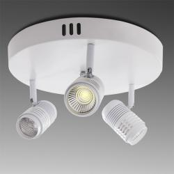 Aplique-Plafón 3 Luces 9W LED COB 2430Lm Color Blanco - Imagen 1